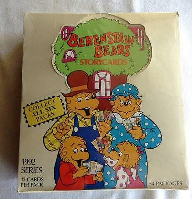 1992 Complete Box Set 54 Berenstain Bears Storycards NEW Sealed FREE SHIP