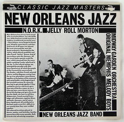 JELLY ROLL MORTON, NEW ORLEANS RHYTHM KINGS, LOVIE AUSTIN, JOHNNY DODDS - 2 LPs