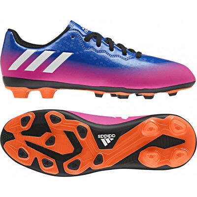 adidas Messi 15.4 FxG Boys Football Boots Junior Kids Girls Moulded Studs UK11-5