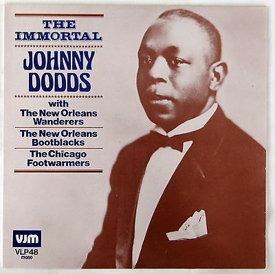 "JOHNNY DODDS -  ""THE IMMORTAL""  &  ""SPIRIT OF NEW ORLEANS""   -  2 LPs"