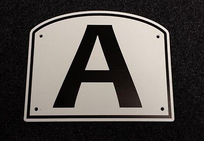 Dressage Arena Markers / Letters x 8 OFFER - PRICE DISCOUNTED BY 50%
