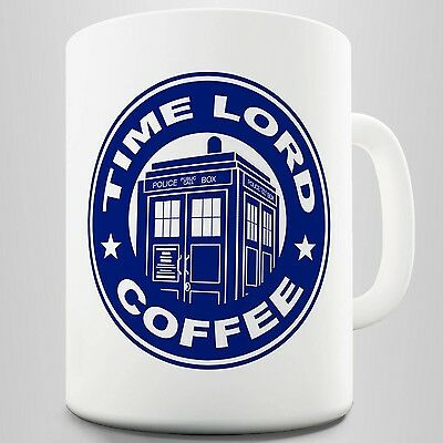 Time Lord ; Dr Who Inspired Coffee Mug .