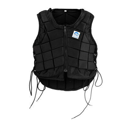 Professional Padded Equestrian Vest Horse Riding Body Protector for Kids CL