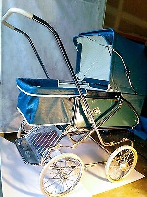 Vintage Folding Baby Carriage / Buggy / Stroller /bassinet Hedstorm