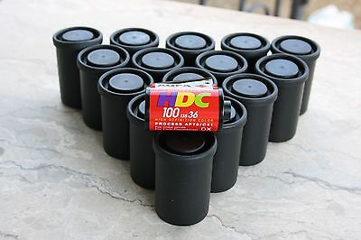 10  rolls film 35mm expired AGFA HDC 100 ISO 35mm 135 36 EXP. negativecolor