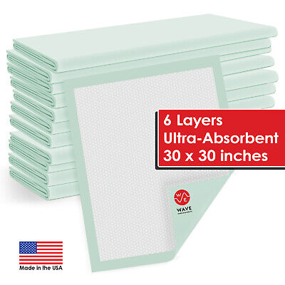 "100 30"" X 30"" Quilted Thick Adult Disposable Medical Bed Pads Underpads Chux"