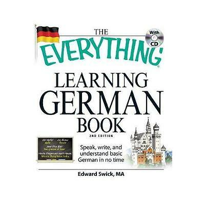 The Everything Learning German Book by Edward Swick (Paperback, 2009)