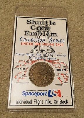 Shuttle Crew Emblem Collector Series STS-50 Columbia