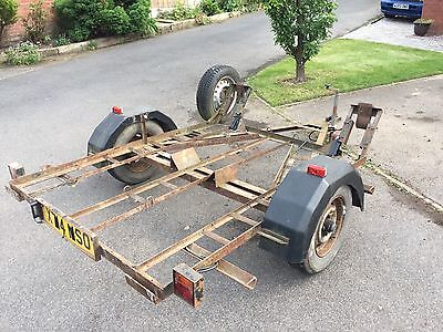 3 Bike Steel Motorcycle Trailer Used For Motocross MX bikes