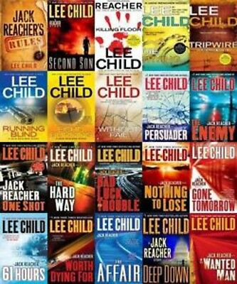 FOR KINDLE Jack Reacher series by Lee Child 21 books