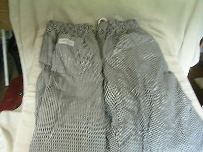 "2 pairs Chef Works baggies  2XL 46""/48"""