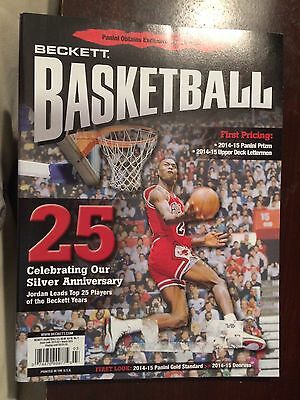 2015 March Issue of Beckett Basketball with Michael Jordan on the Cover