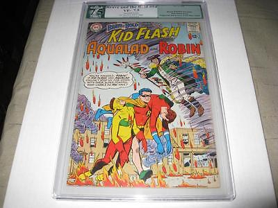 Brave And The Bold #54 Pgx Restored 7.5 1St Appearance Of The Teen Titans