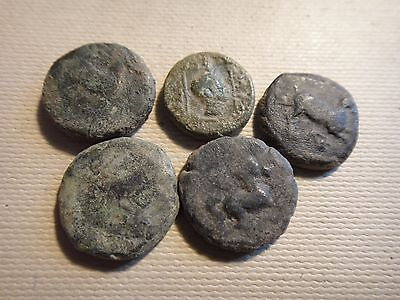 Lot of   5   Greek coins   33