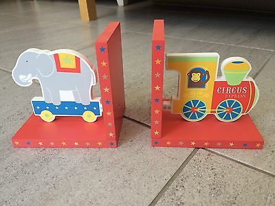 Children's Circus Bookends