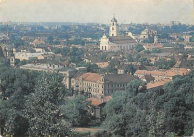 BR84928 vilnius panoramic view of the old town Lithuania