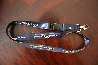 Lanyard Schlüsselband Al Masria Universal Airlines New Very Rare