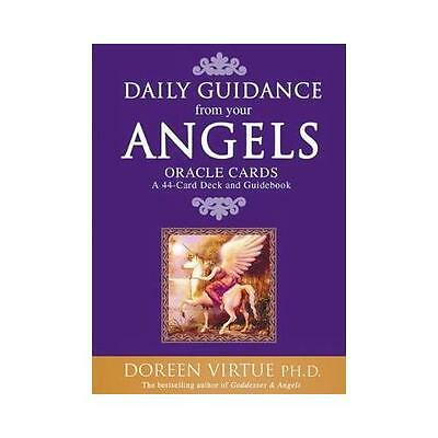 Daily Guidance from Your Angels Oracle Cards: 365 Angelic Messages... by...
