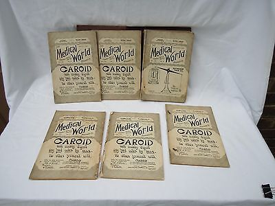 Antique Medical Journals - The Medical World 1897 - 10 volumes by Ozomulsion Co.