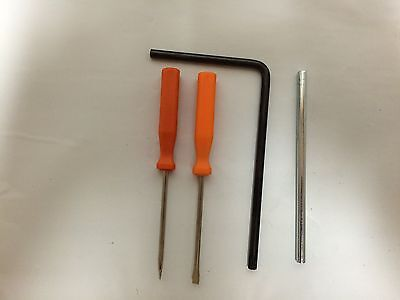 STIHL TOOL SET stihl carb adjust screw driver, t27 torx wrench, stop bar
