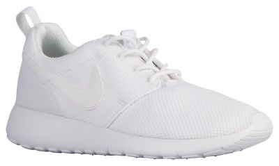 new product f4b25 7cd86 Nike Roshe One Boys' Preschool White/White/Wolf Grey 49422102