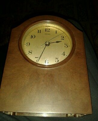 Vintage Rare Ferranti Brown Bakalite Electric Clock