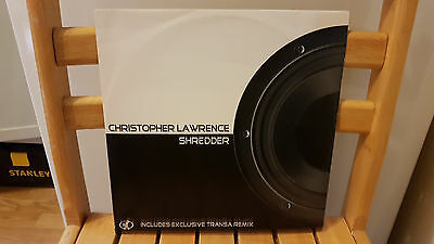 "Christopher Lawrence ‎– Shredder / Hook Recordings ‎– HK035 / 1998 12"" Vinyl"