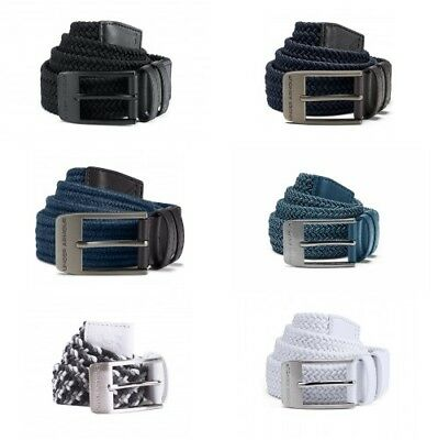 Under Armour Mens Braided Belt 2 Colours