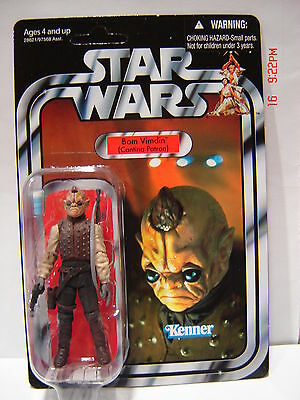 Star Wars Bom Vimdin Action Figure Original Vintage Collection VC 53  MOC