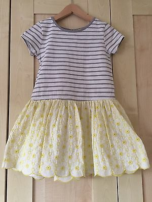 Mini boden yellow broiderie anglais dress age 5 6 years for Mini boden germany