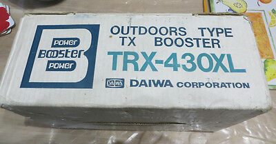 Daiwa TRX-430XL 70cm Masthead amplifier / pre-amplifier Power Booster