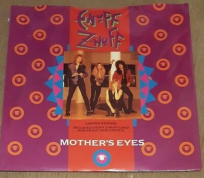 """ENUFF Z'NUFF - Mother's Eyes ~12"""" Vinyl Single *Limited Edition* *SEALED*"""