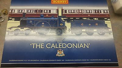 Hornby The Caledonian Train Set Oo Gauge In Box Limited Edition