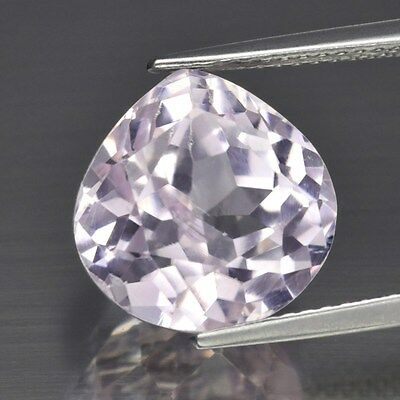 Clean! 8.86ct 11.5mm Pear Natural Untreated Light Pink Kunzite