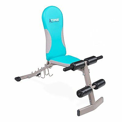 Adjustable workout bench folding incline decline flat for home gym exercise cad - Weight bench incline decline ...