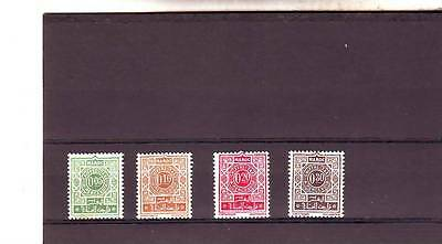 a121 - MOROCCO - SGD162-D165 MNH 1965 POSTAGE DUES