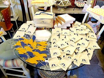 Chloe and Isabel LOT OF 100 Case w Boxes plus Ribbon Jewelry Bags Pouches Doves