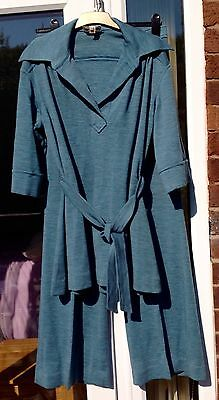 VINTAGE WITH LABELS 1960/70s CAMARILLA 2 PIECE SET TUNIC & TROUSERS SIZE 18f