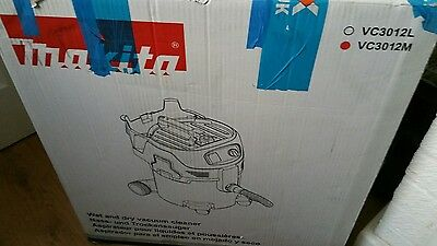 makita vc3012m m class dust extractor 110 v