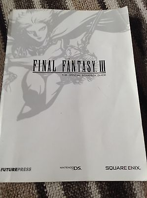 Final Fantasy III Official  Strategy Guide