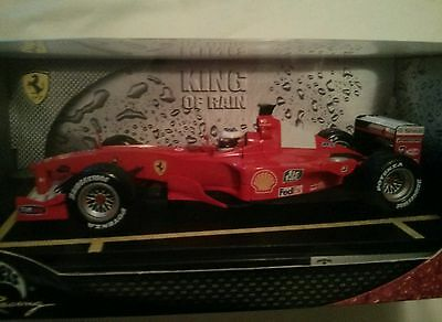 Hot Wheels 50909 1/18 Ferrari F1 F-2000  King Of Rain Edition Schumacher