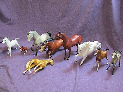 Lot - 9 Breyer Restoration 47 Man O' War 37 FAS Vintage 39 FAL 300 Stonewall Joy