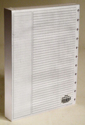 """Levenger Circa AD8910 RL Letter Size Ruled Pages 8 1/2"""" x 11"""" Refill 300 Sheets"""
