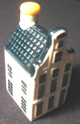 NEW Blue Delft KLM AIRLINES  BOLS Amsterdam Miniature Dutch House #19  Sealed