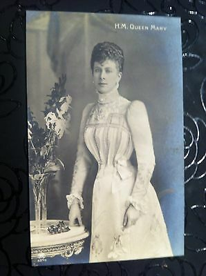Queen Mary Photo Postcard, Wife Of George V Royal Family