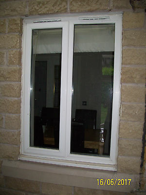 Used white upvc double glazing window