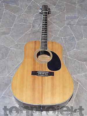vintage DYLON by BCG 6string dreadnought Gitarre guitar Korea Westerngitarre