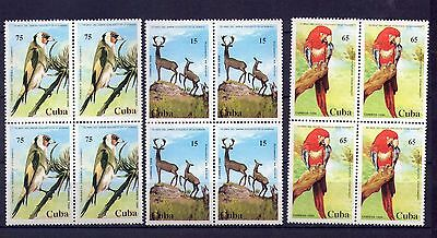 "1994,  Block of 4, "" FAUNA, 55TH ANNIVERSARY OF THE ZOO, ANIMALES "" MINT"