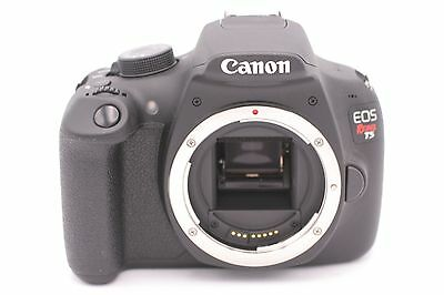 Canon EOS Rebel T5 18.0 MP Digital SLR Camera (Body Only) Shutter Count: 185