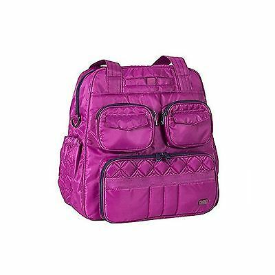 Lug Women's Puddle Jumper Overnight Gym Bag Orchid Pink One Size